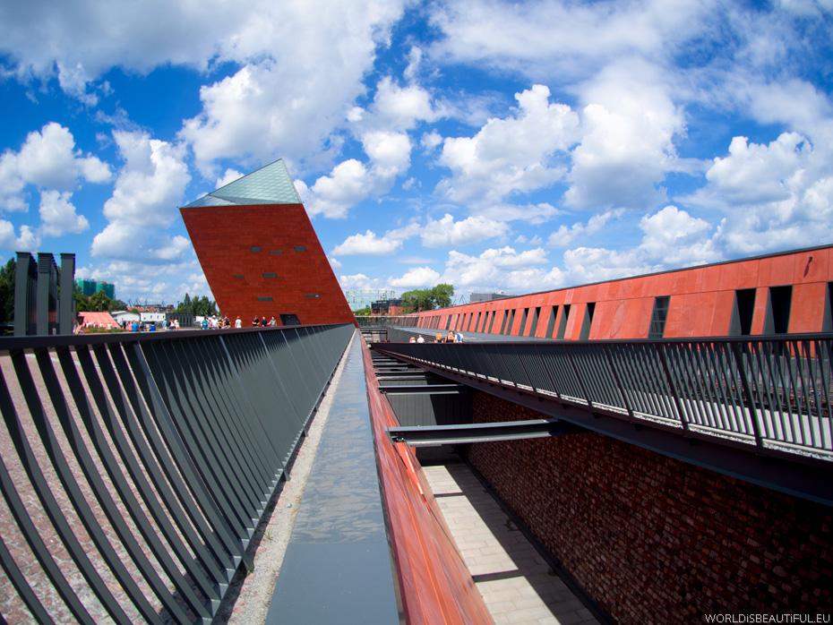 Budynki Muzeum II Wojny Światowej w Gdańsku