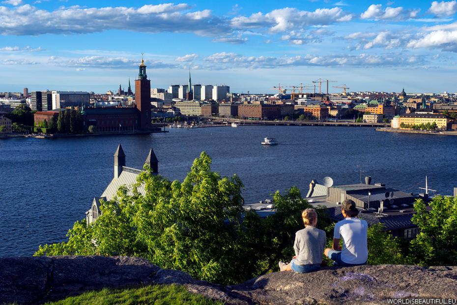Sztokholm - Skinnarviksberget
