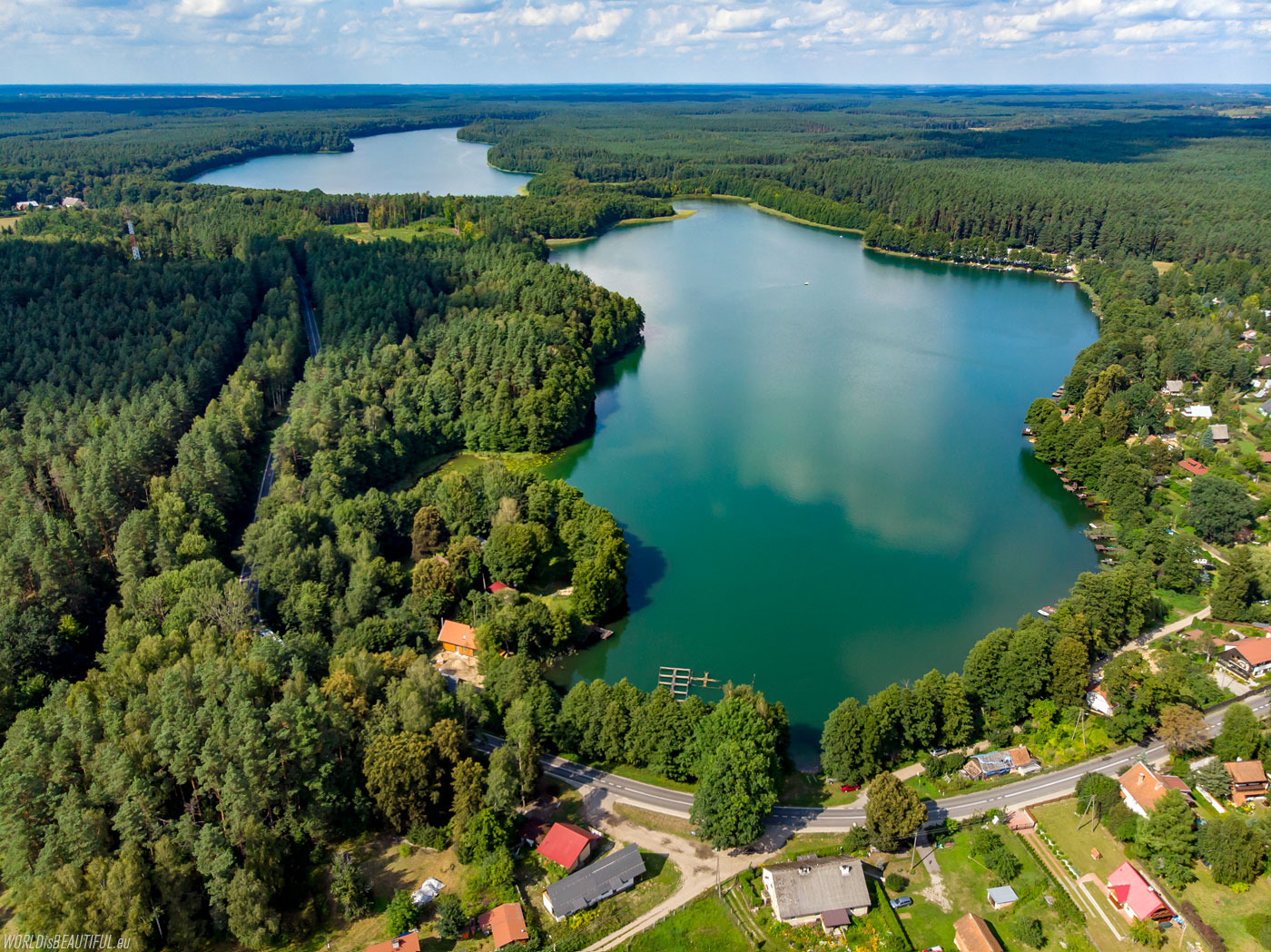 Dluzek Lake for holiday makers