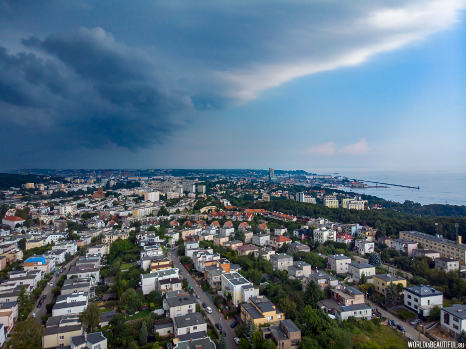 Storm over Gdynia