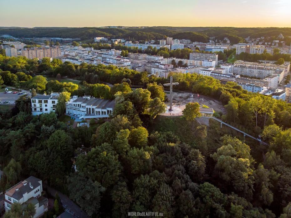 Kamienna Góra w Gdyni - Kolejka i Panorama