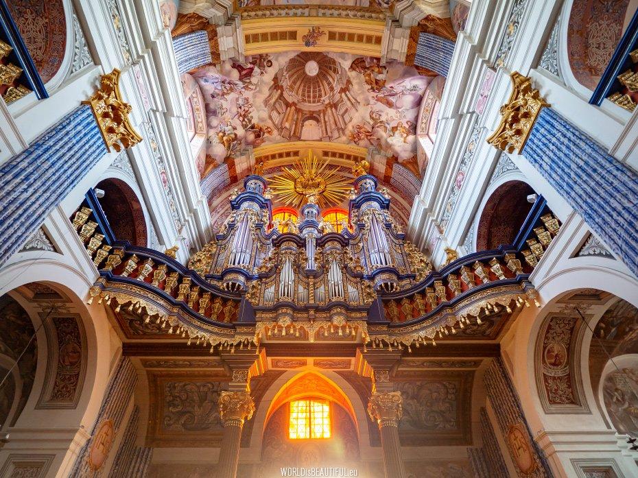 Barokowe organy