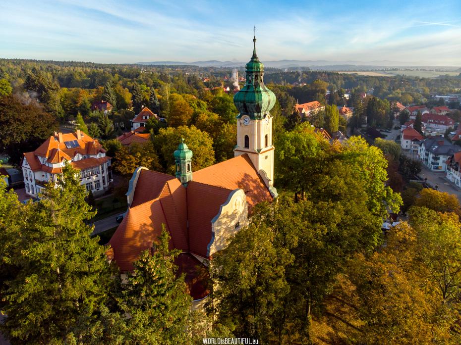 Polanica-Zdrój - view of the city