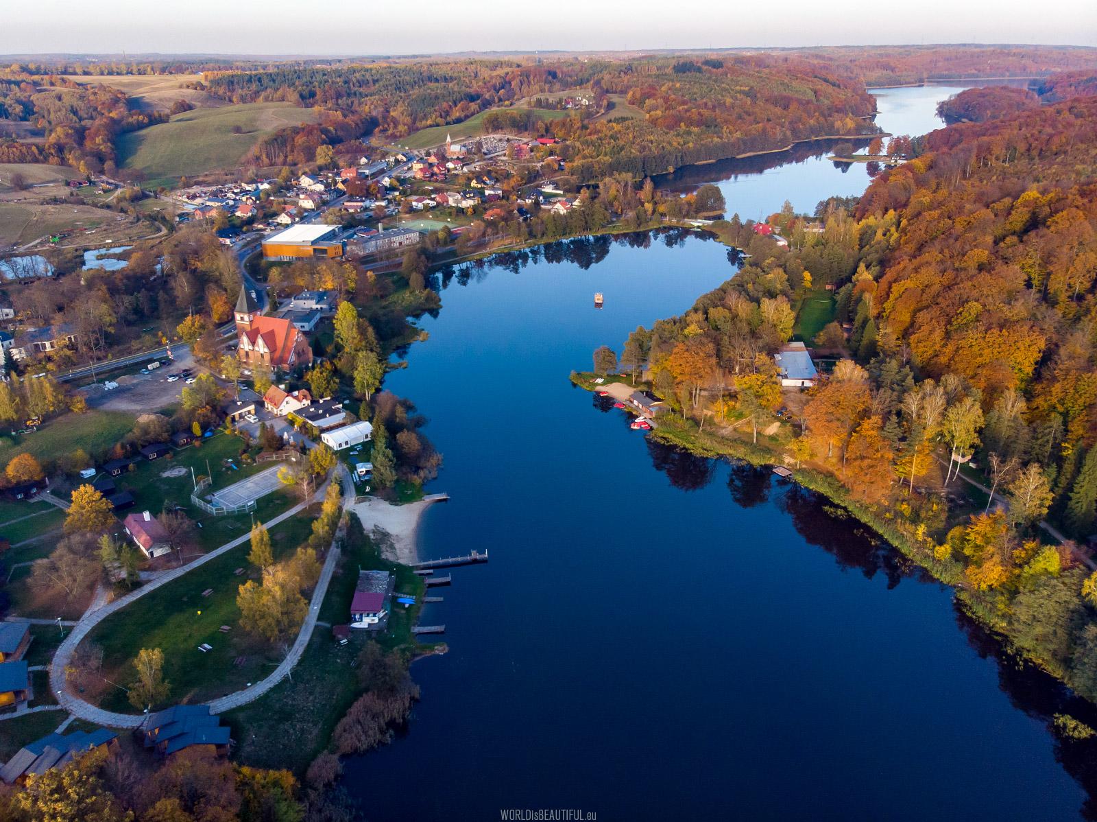 Przywidz and Przywidzkie Lakes