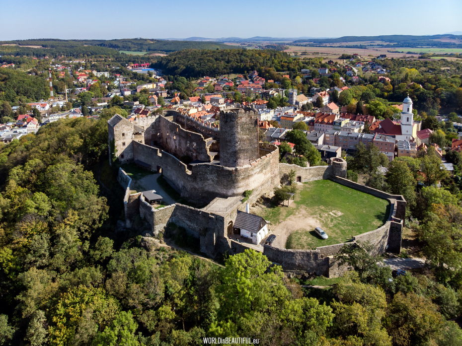 Castle in Bolków