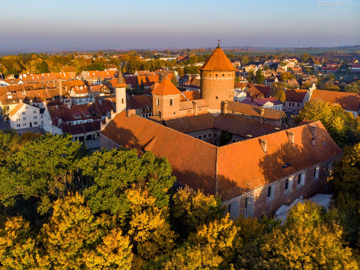 Średniowieczny zamek w Reszlu