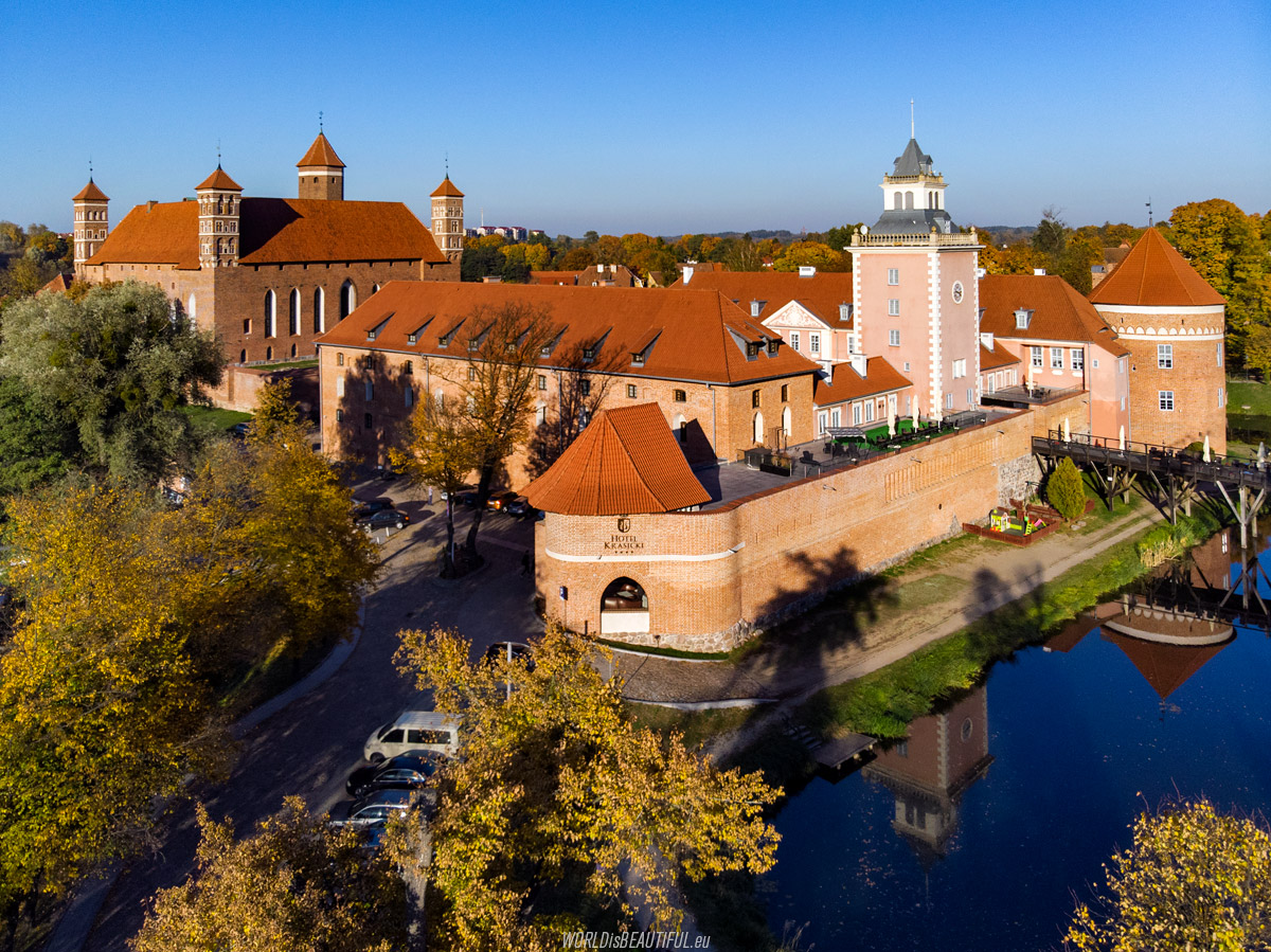 Castle in Lidzbark Warmiński, Poland