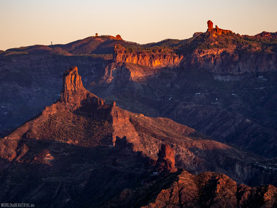 The highest peaks of Gran Canaria