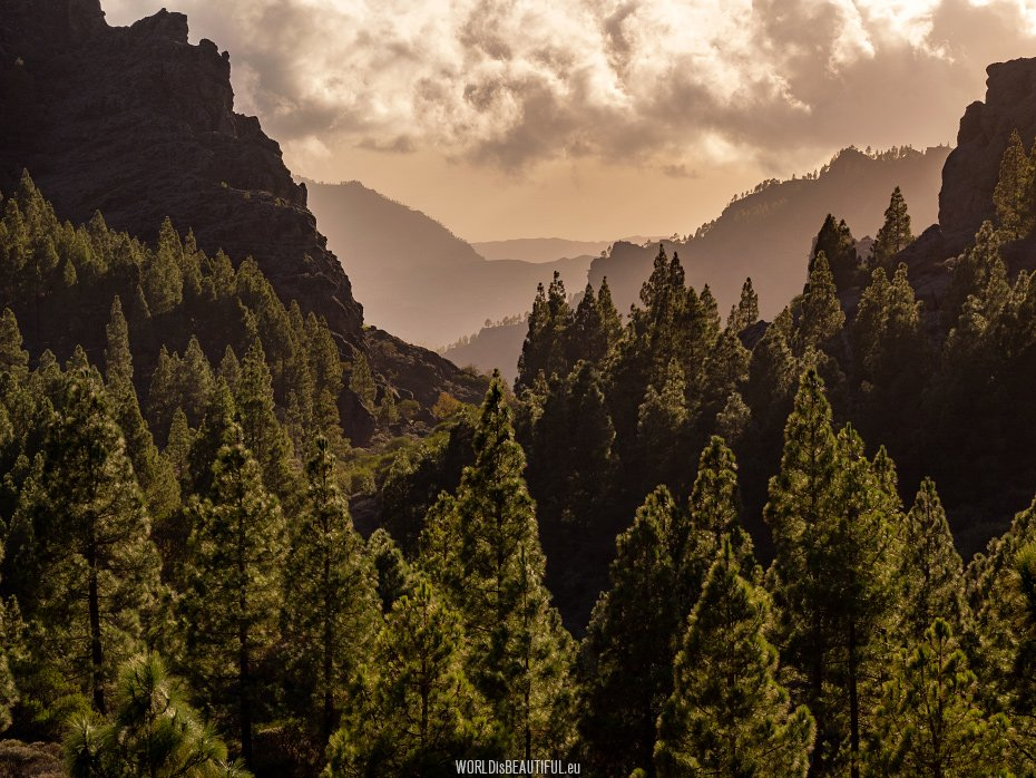 Mountains - best places for Gran Canaria