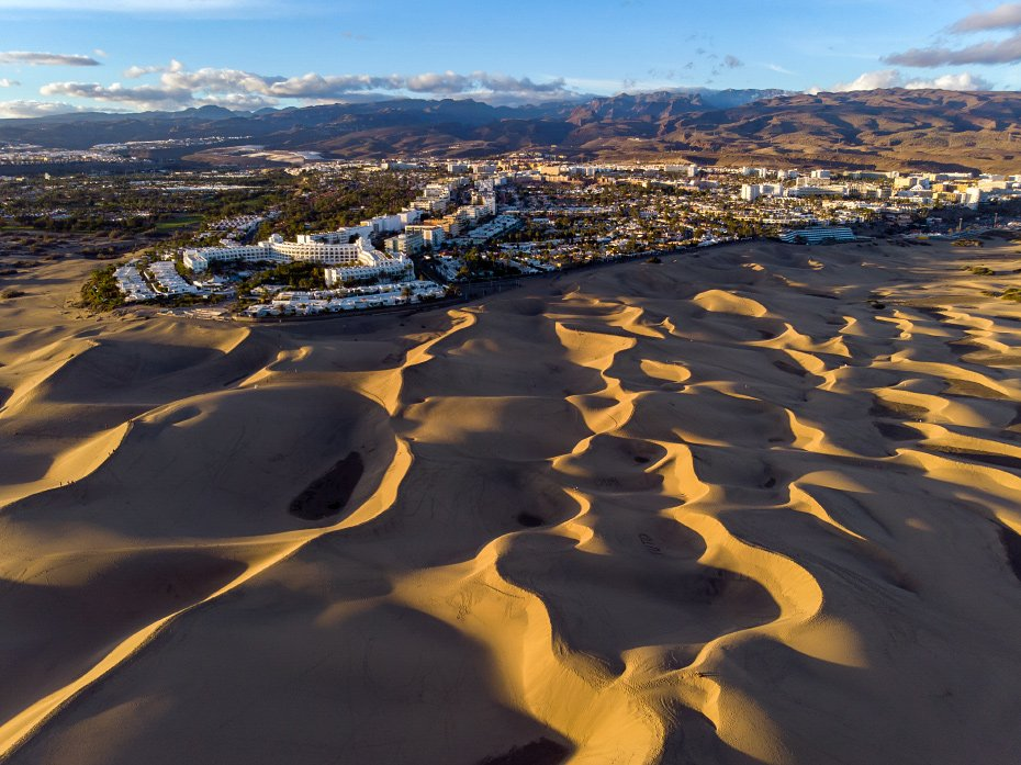 Playa del Ingles and Dunes