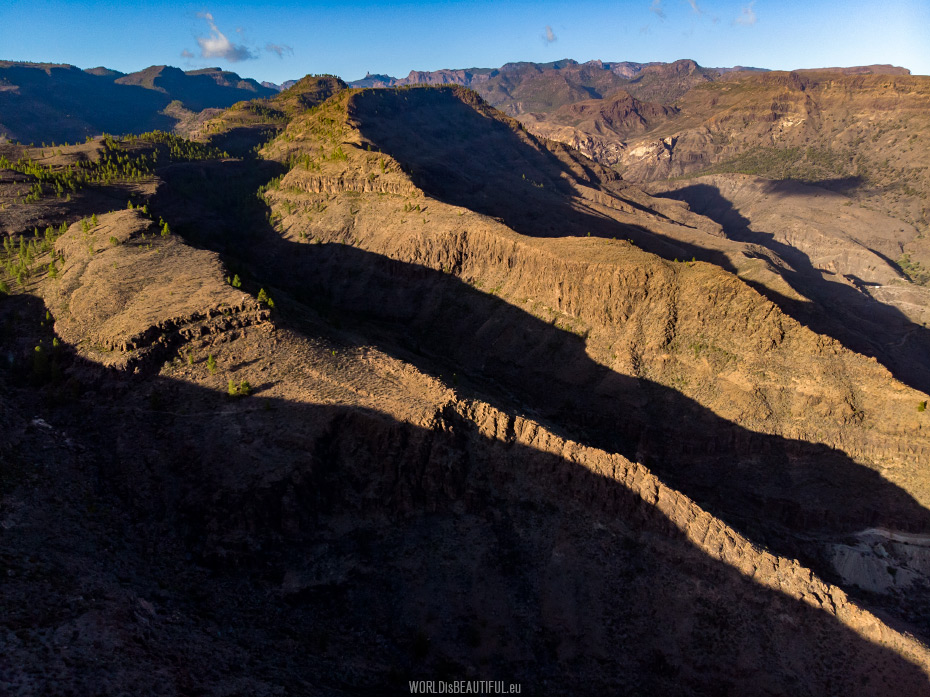 Mountains in Gran Canaria