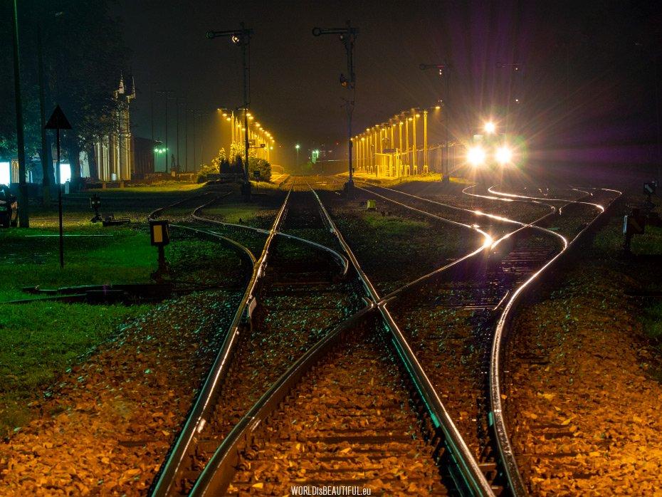 Railway station in Kętrzyn