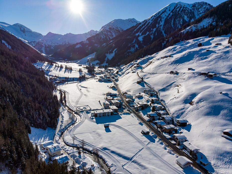 Beautiful winter in Austria