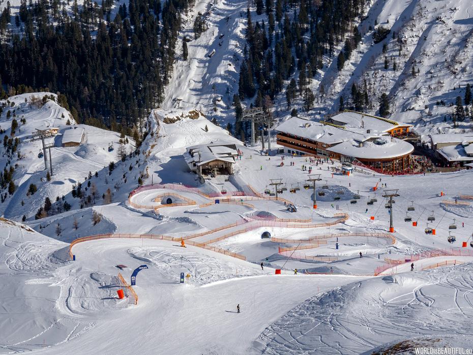 Hintertux snow park