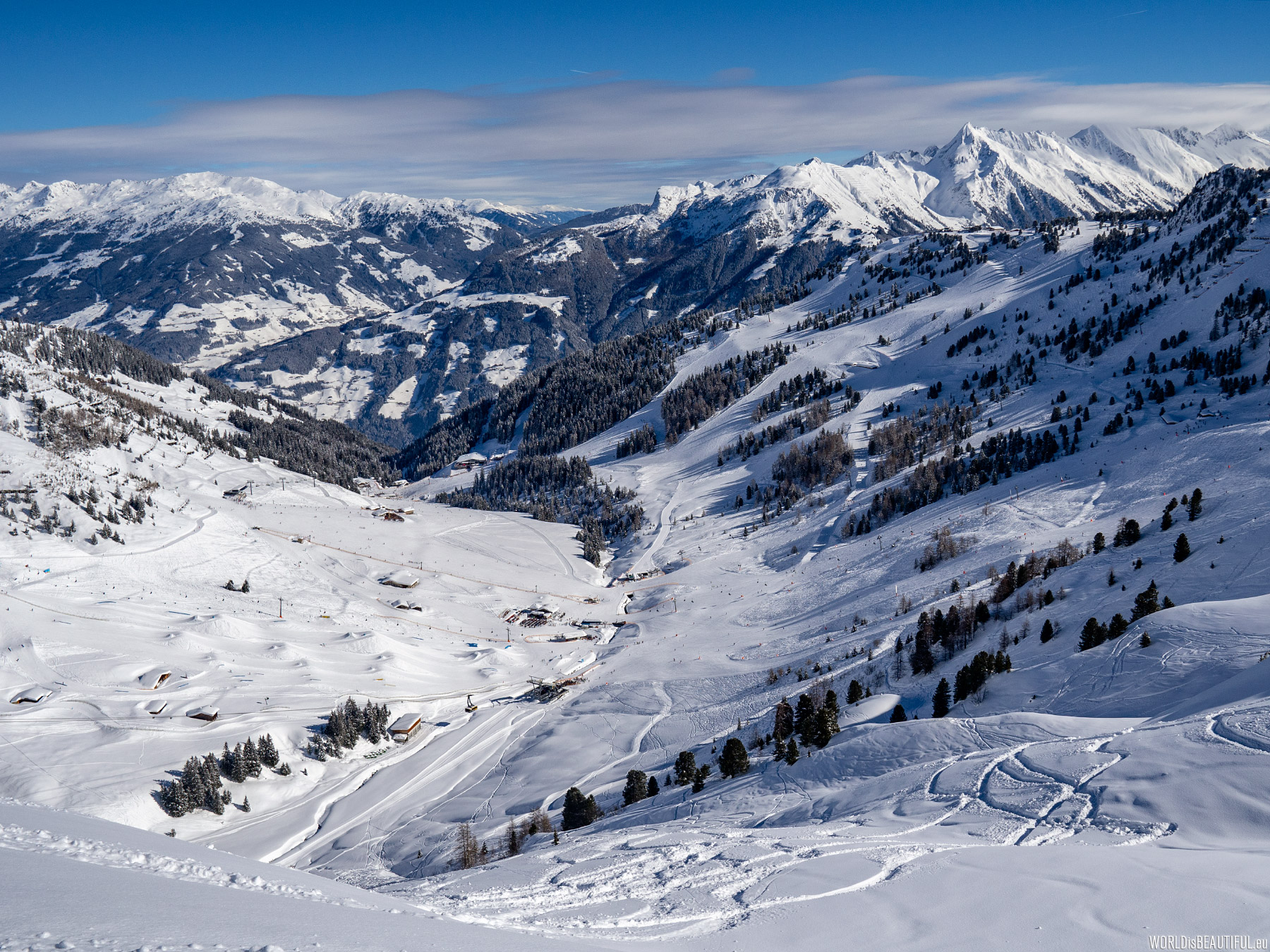 Stoki narciarskie w Mayrhofen