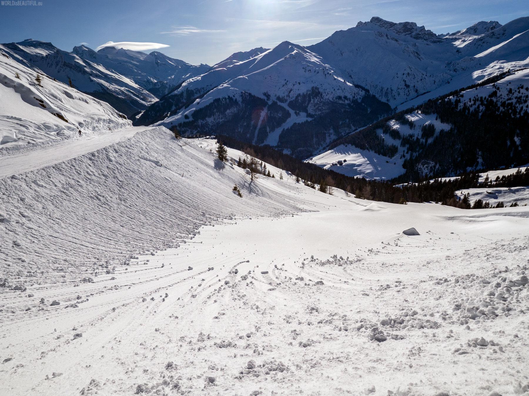 Idealne warunki narciarskie
