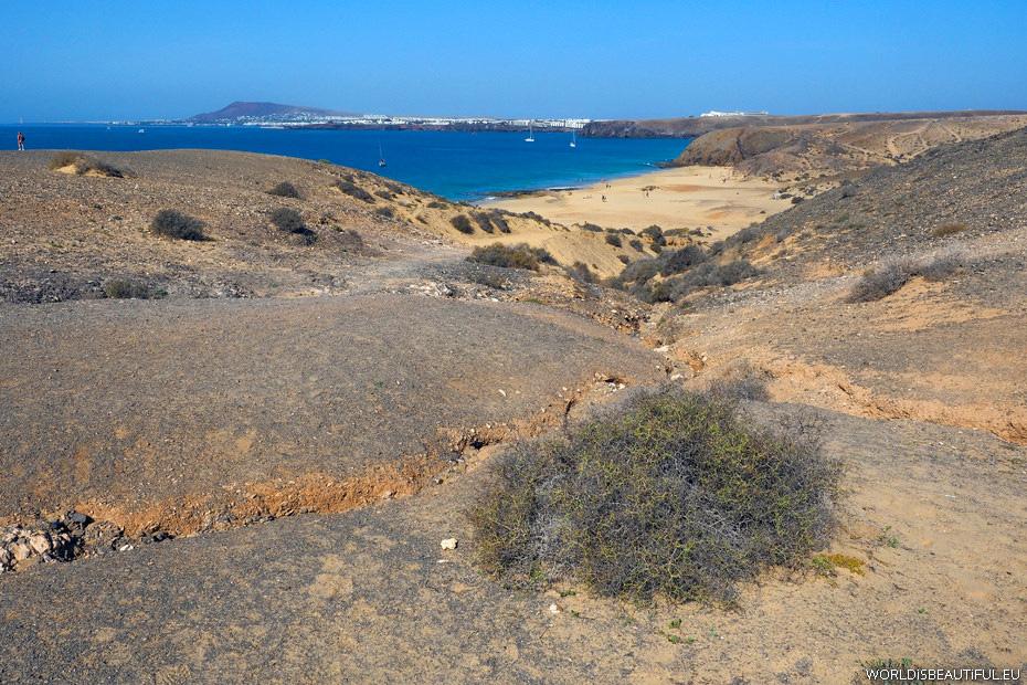 Playa del Pozo, półwysep Papagayo