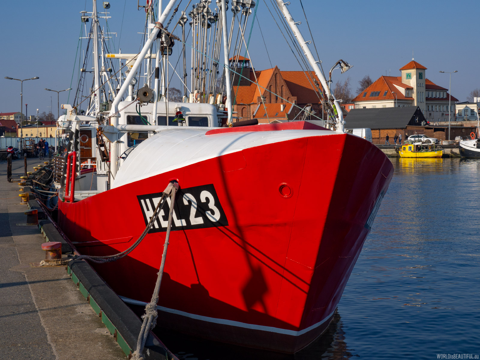 Port rybacki w Helu