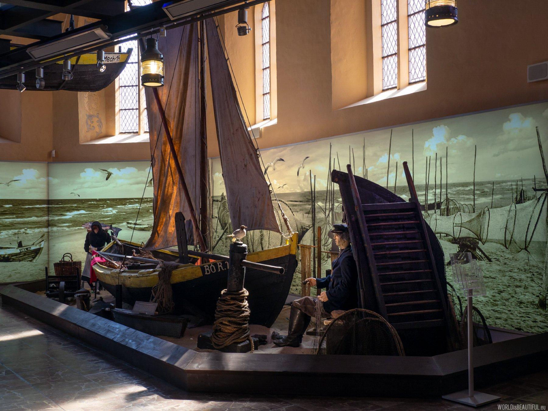 The Fisheries Museum in Hel