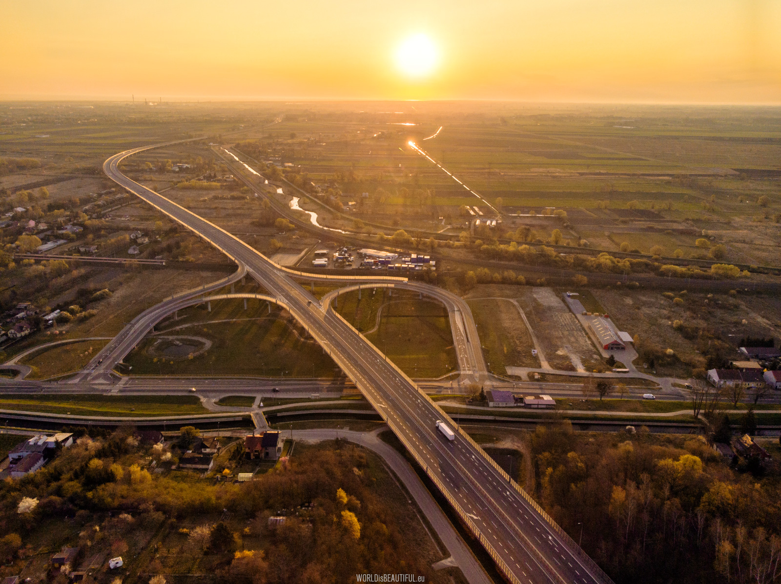 The southern bypass of Gdansk