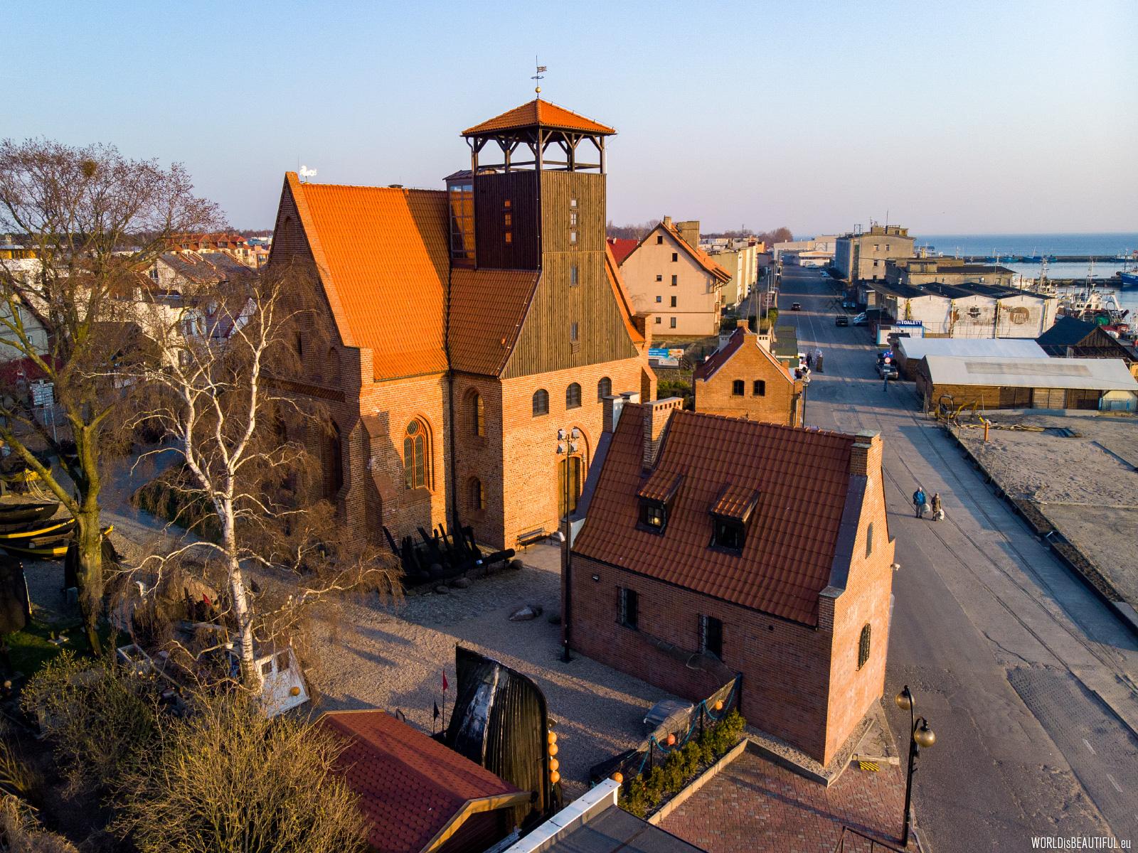 Historic church in Hel