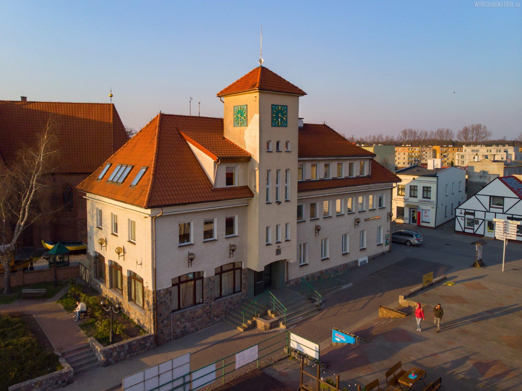 City Hall of Hel