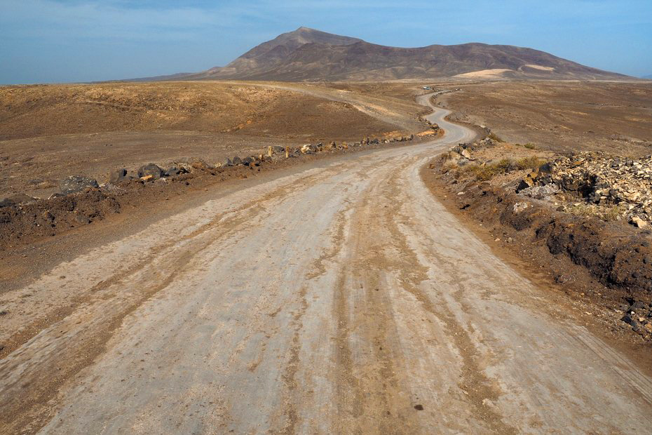 Road through Los Ajaches