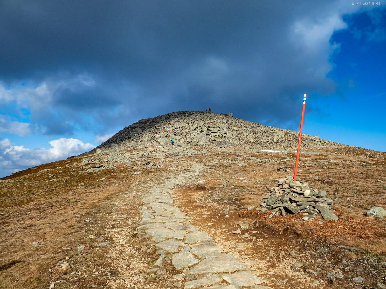 Kopuła szczytowa na Babiej Górze