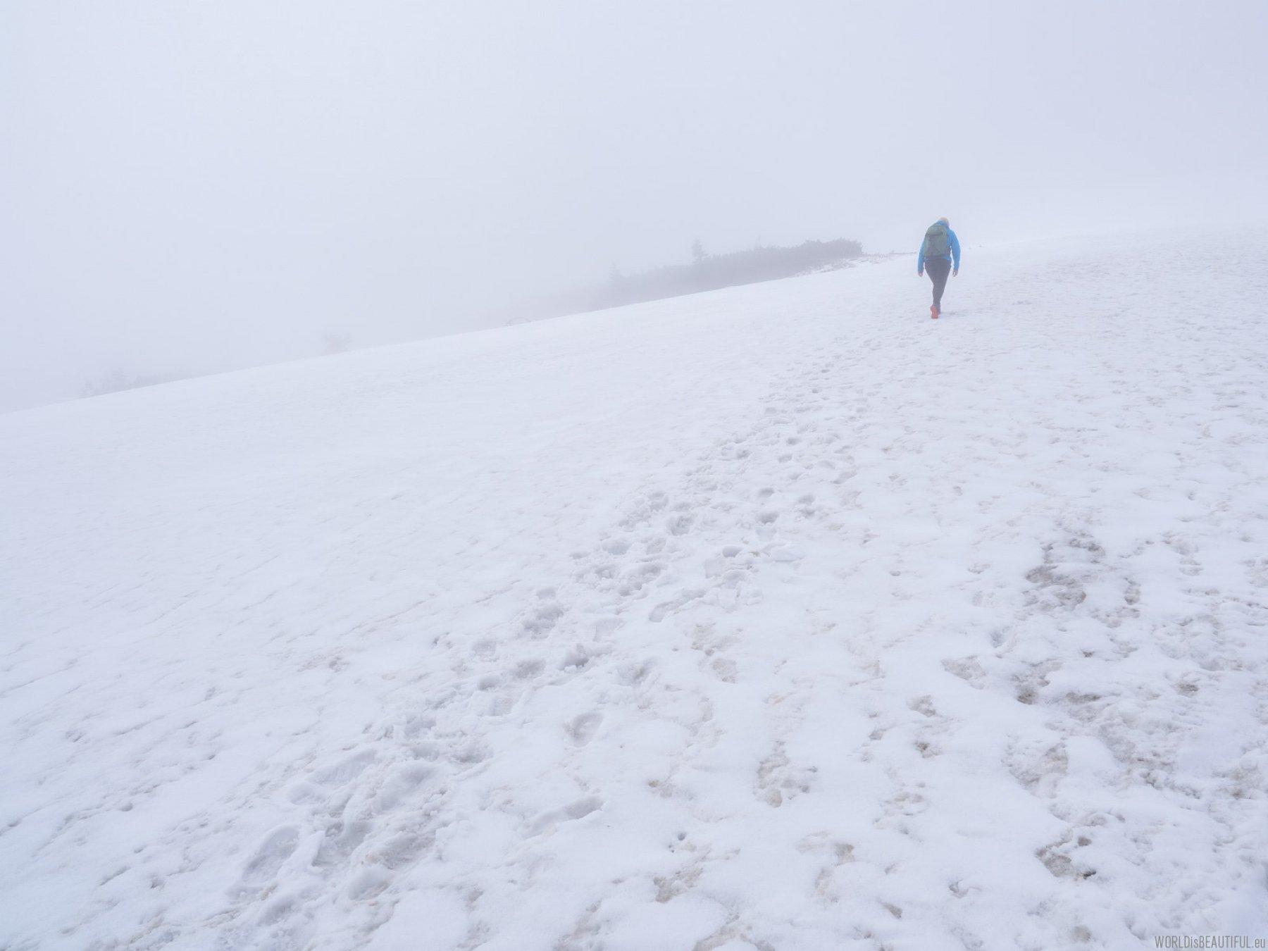 Winter on Babia Góra