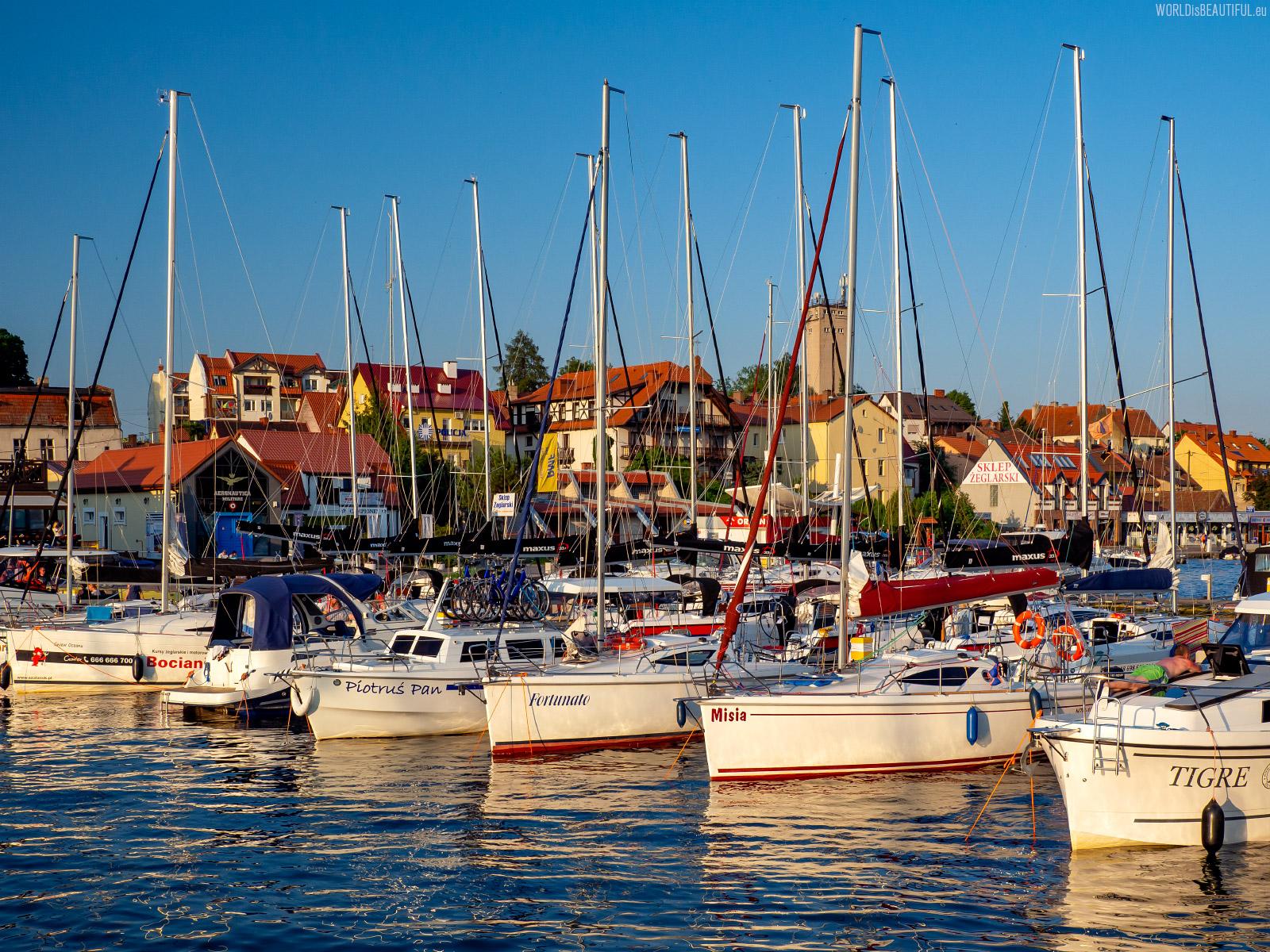 Marina w Mikołajkach