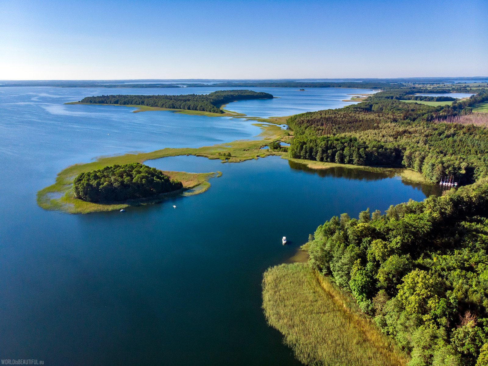 Great Masurian Lakes - Mamry Lake