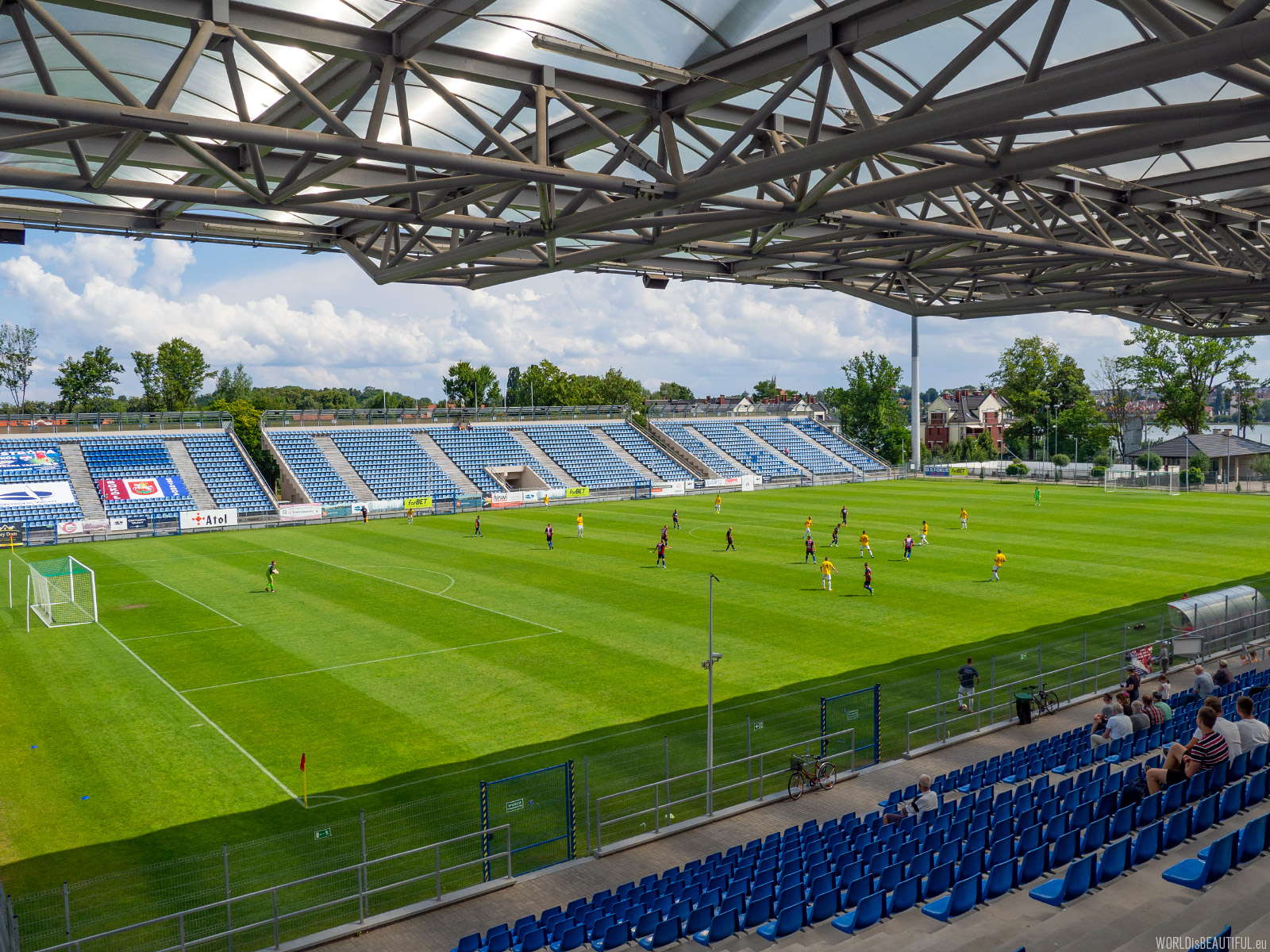 Stadion w Ostródzie