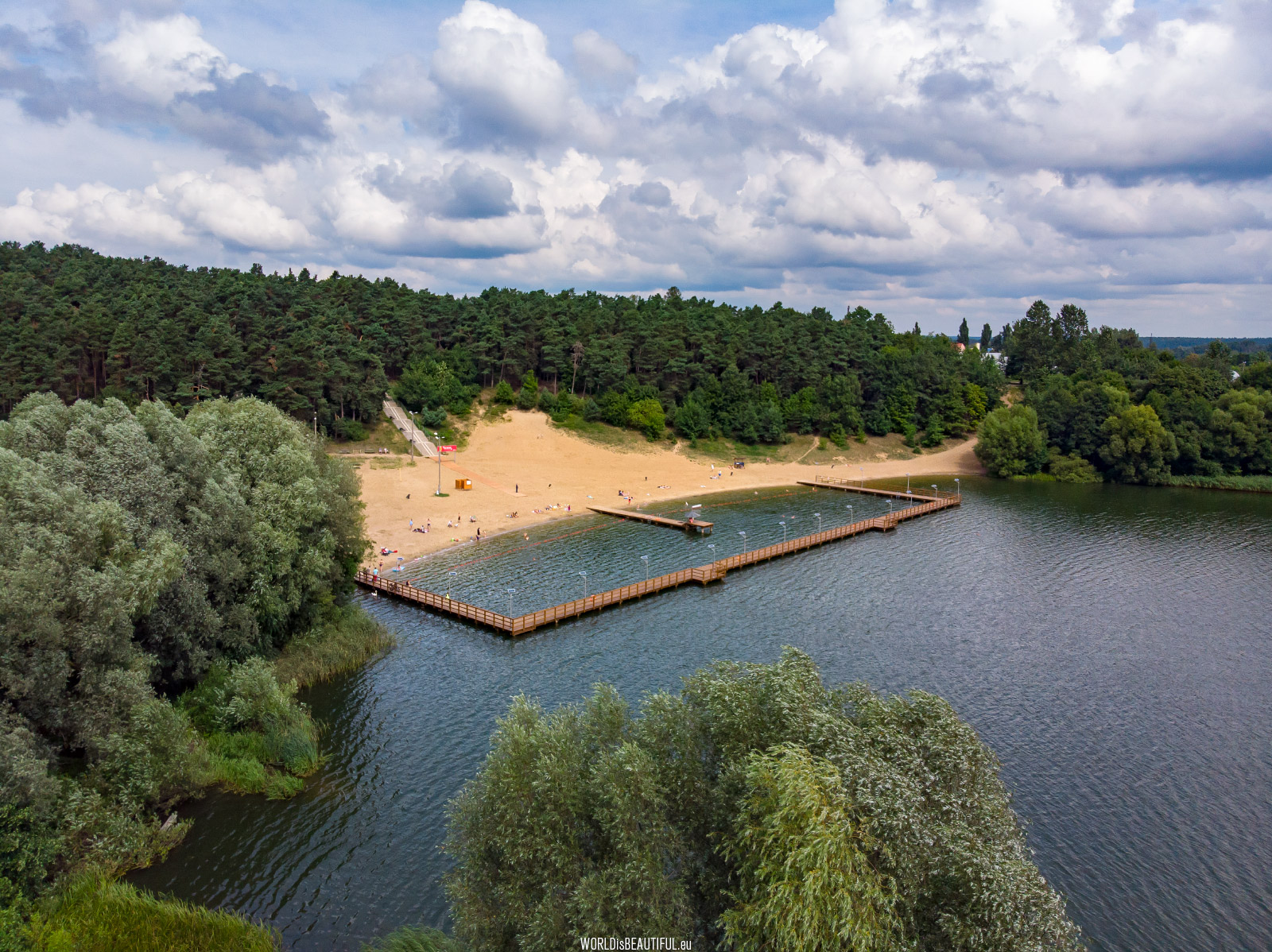 Kąpielisko nad Jeziorem Sajmino