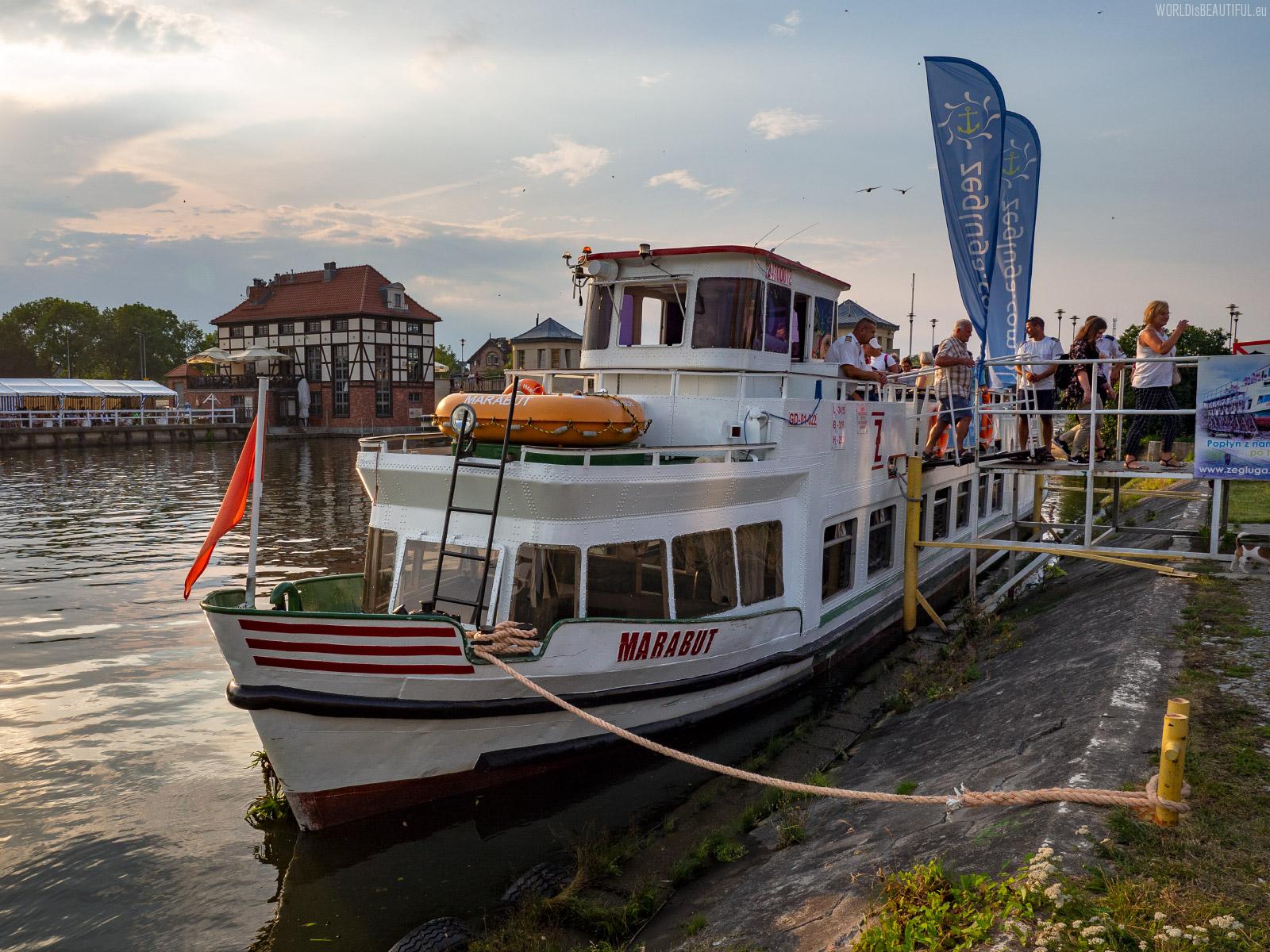 Passenger Shipping Harbor in Elbląg