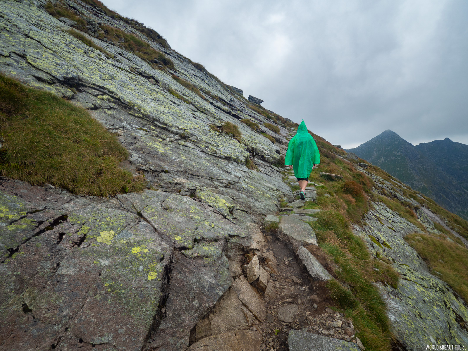 Sudden change of weather in the Tatra Mountains