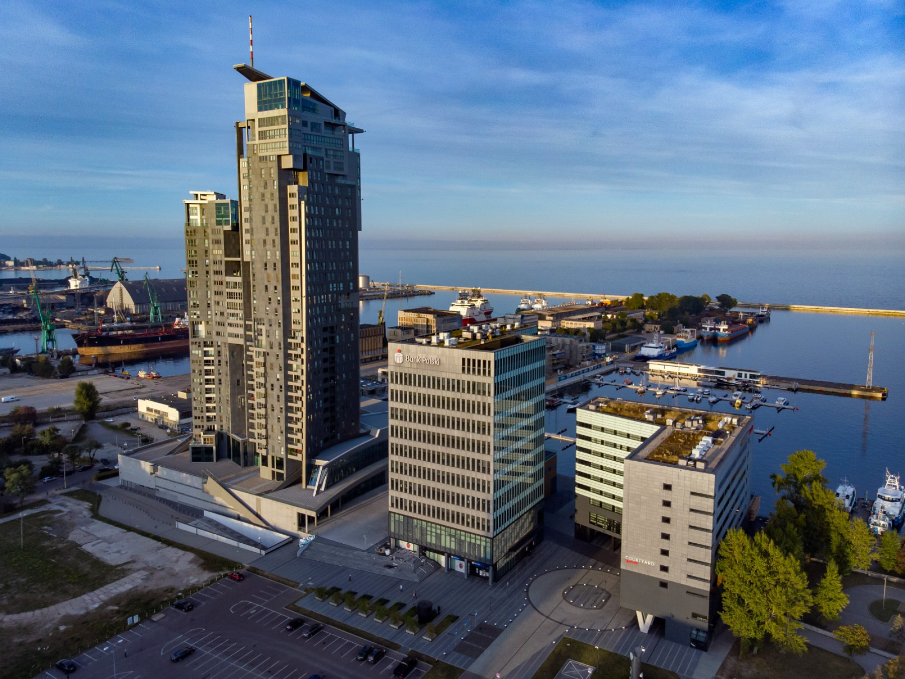 Apartments and office buildings in Gdynia