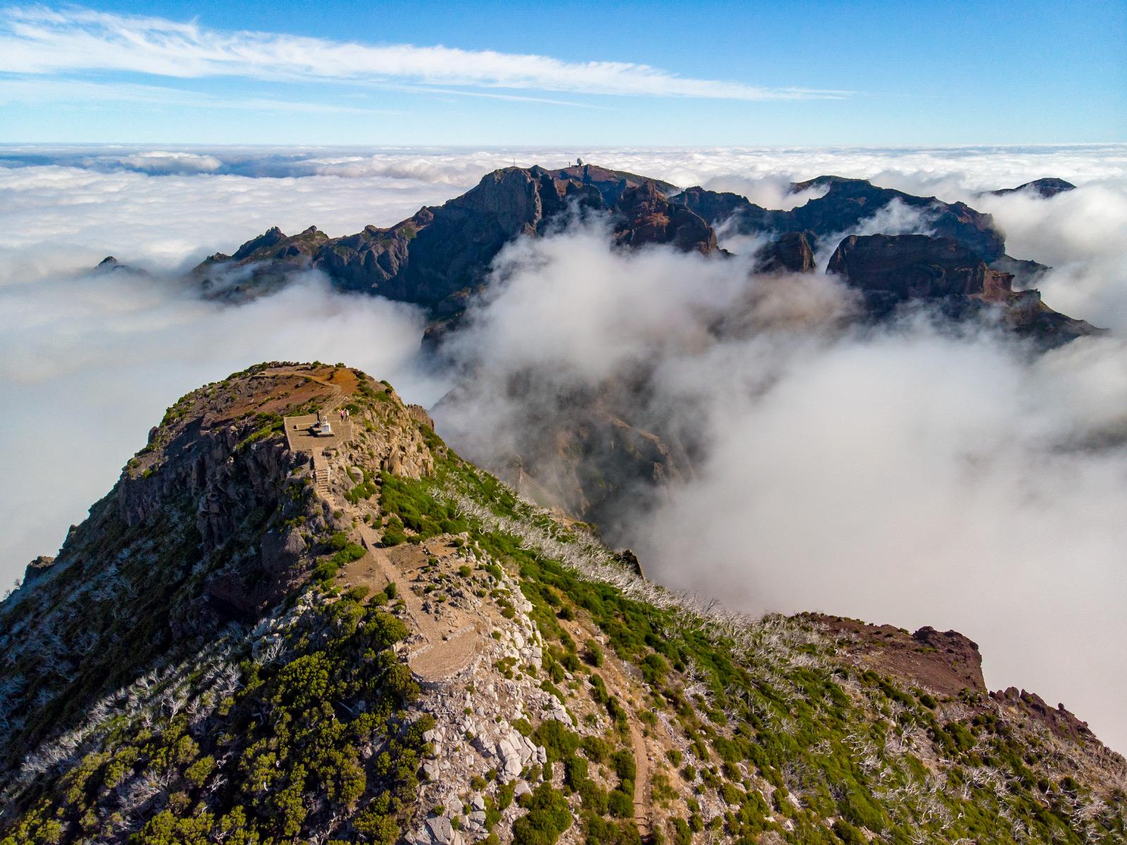 Najwyższy szczyt Madery