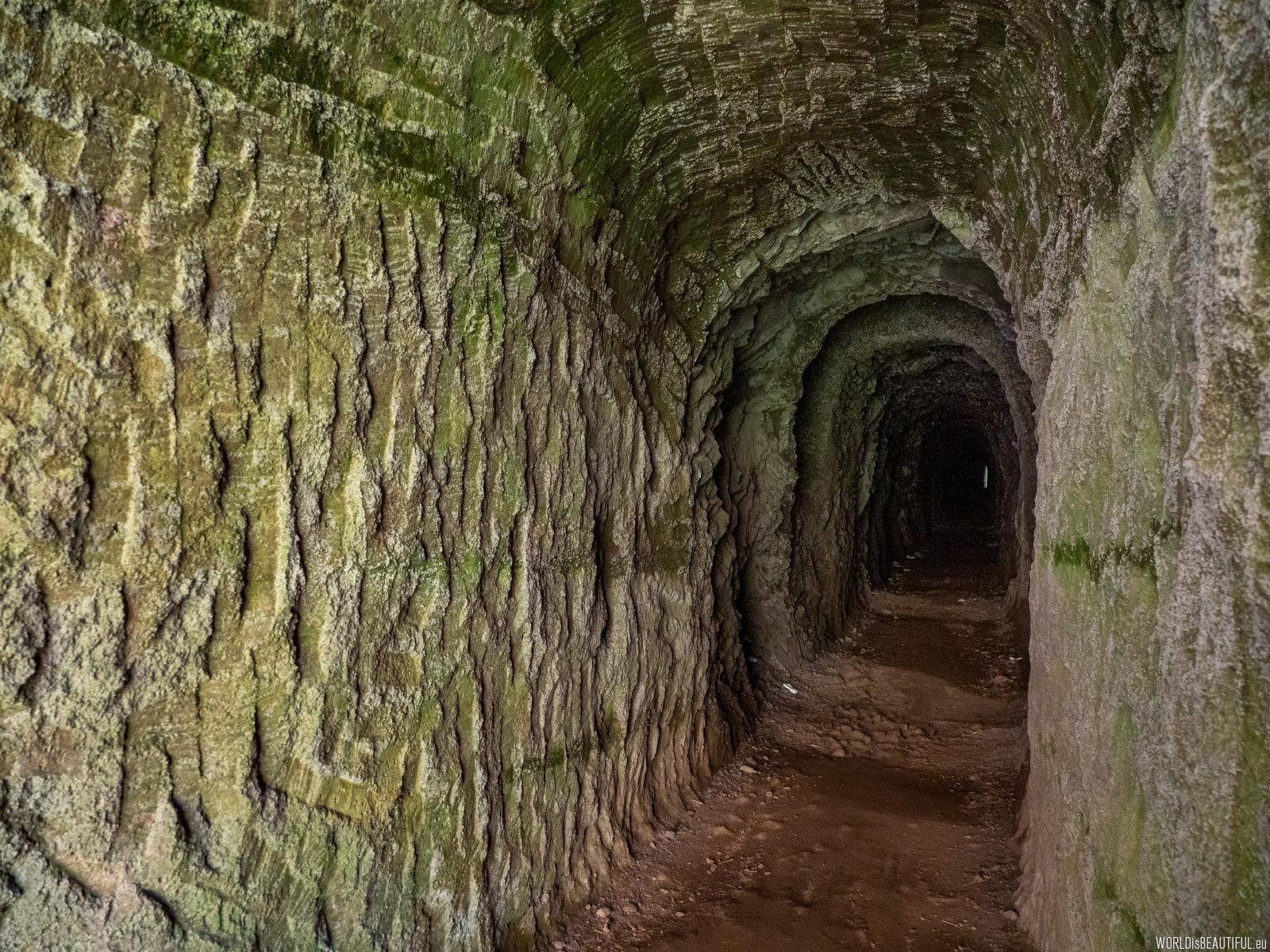 Trail through the tunnel