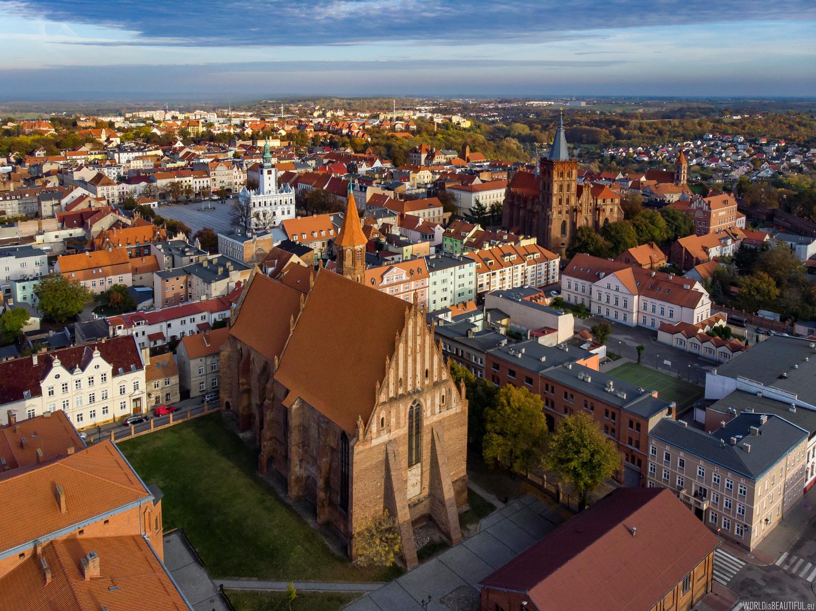 Zabytki w Chełmnie