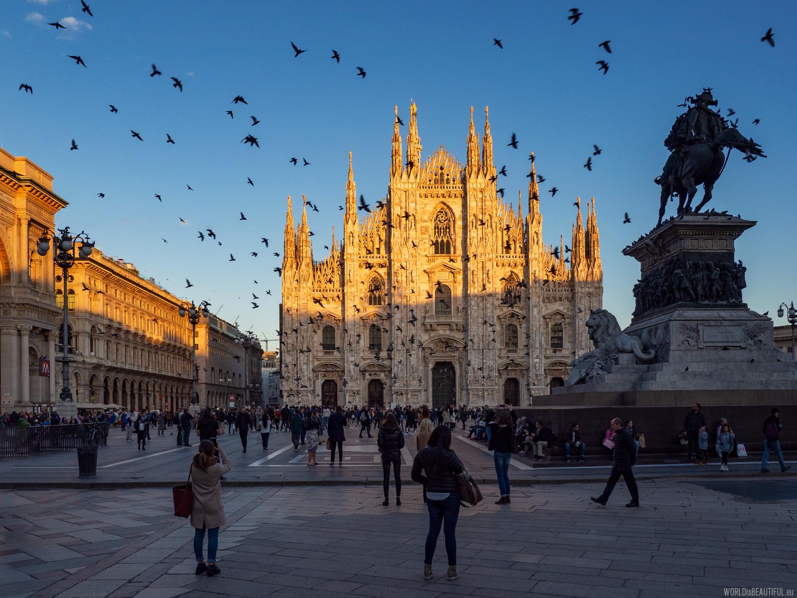 Zabytki w Mediolanie
