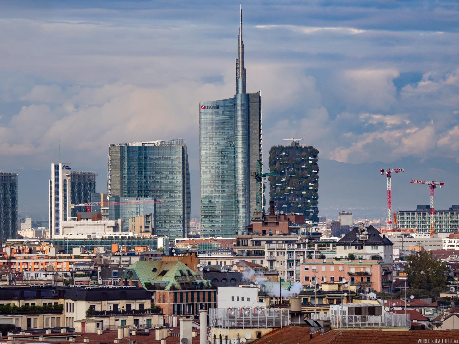 Panorama of Milan
