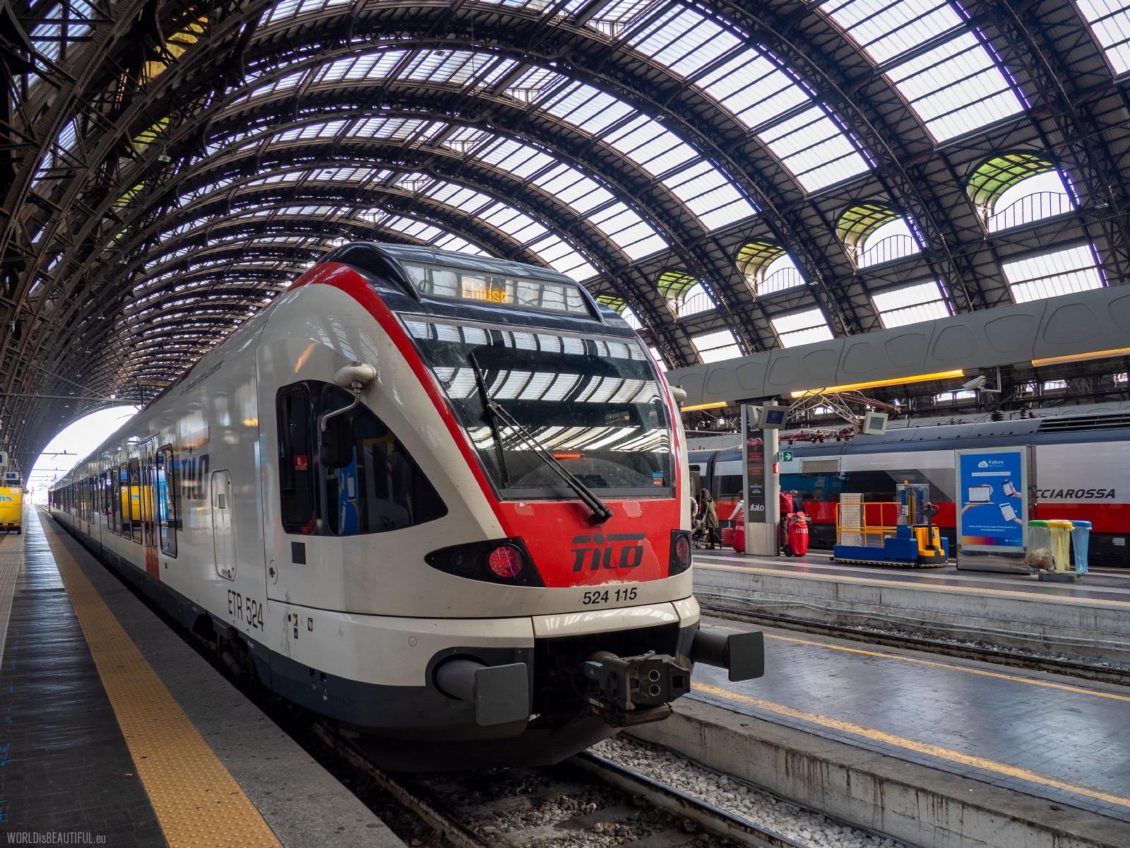 Dworzec kolejowy Milano Centrale