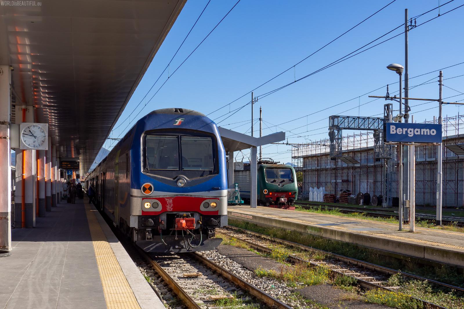 Dworzec kolejowy w Bergamo