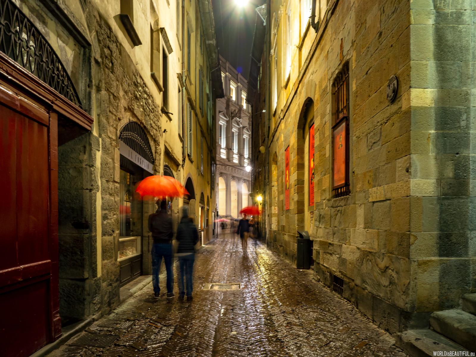 Zwiedzanie Bergamo