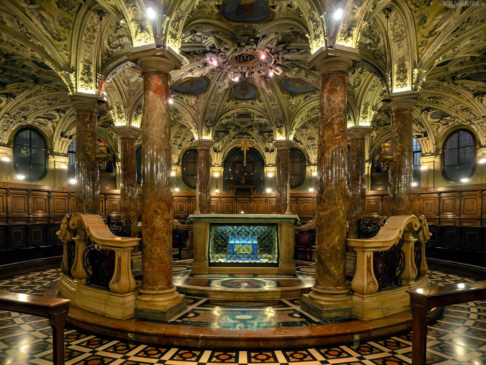 Crypt under the main altar