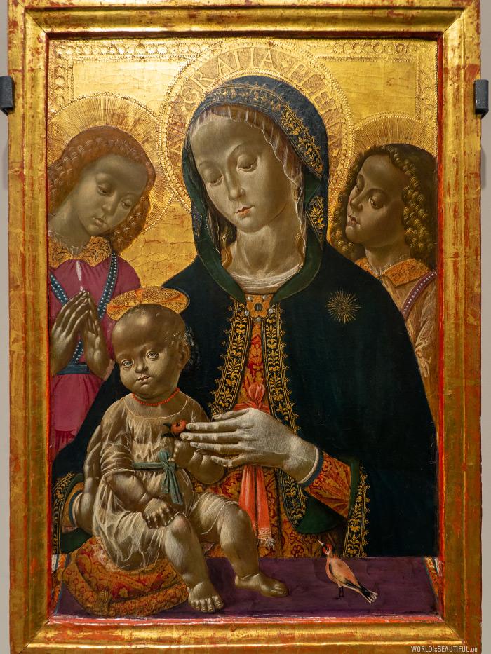 Black Madonna with black Jesus