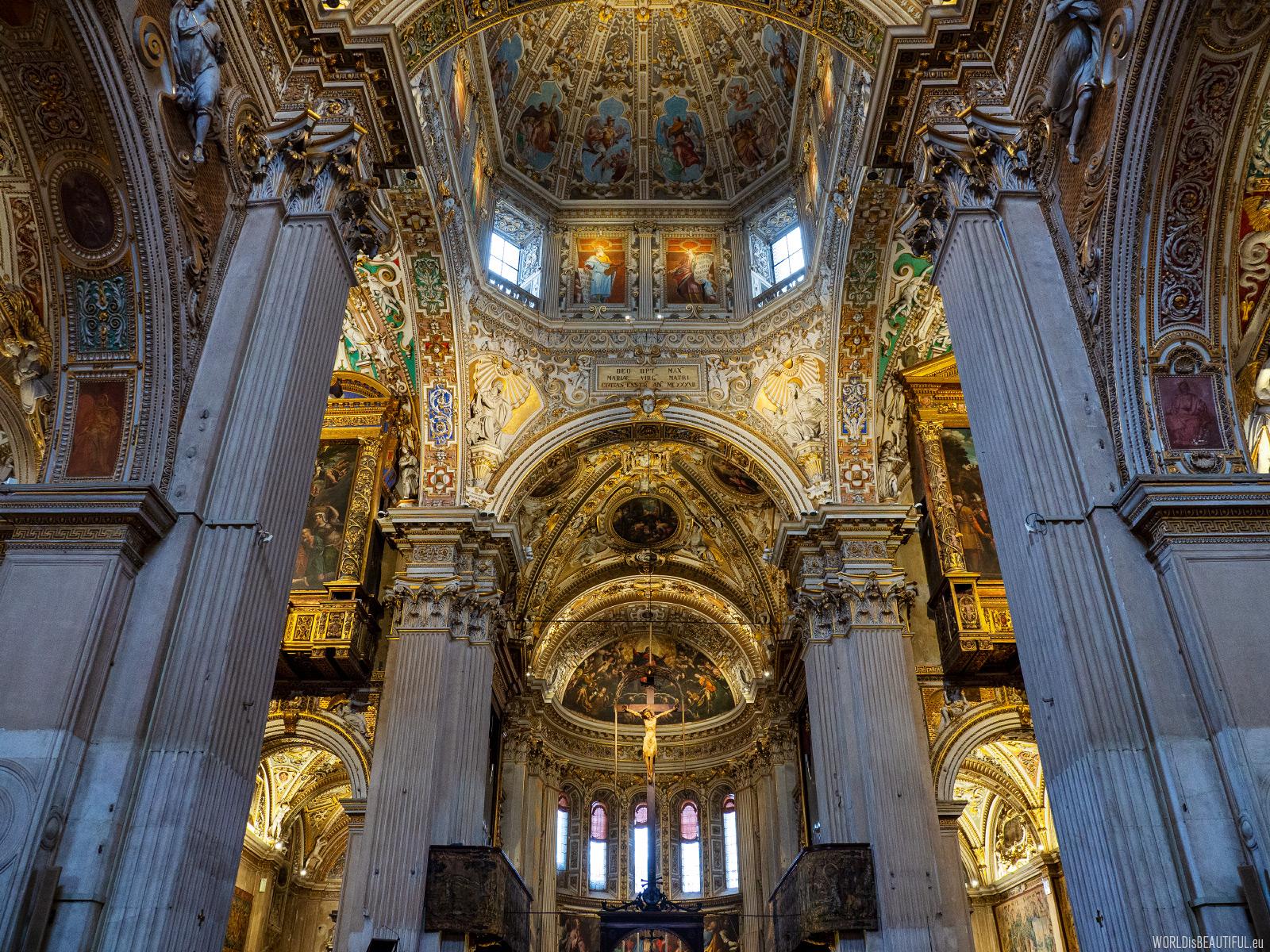 Zwiedzanie Bazyliki w Bergamo