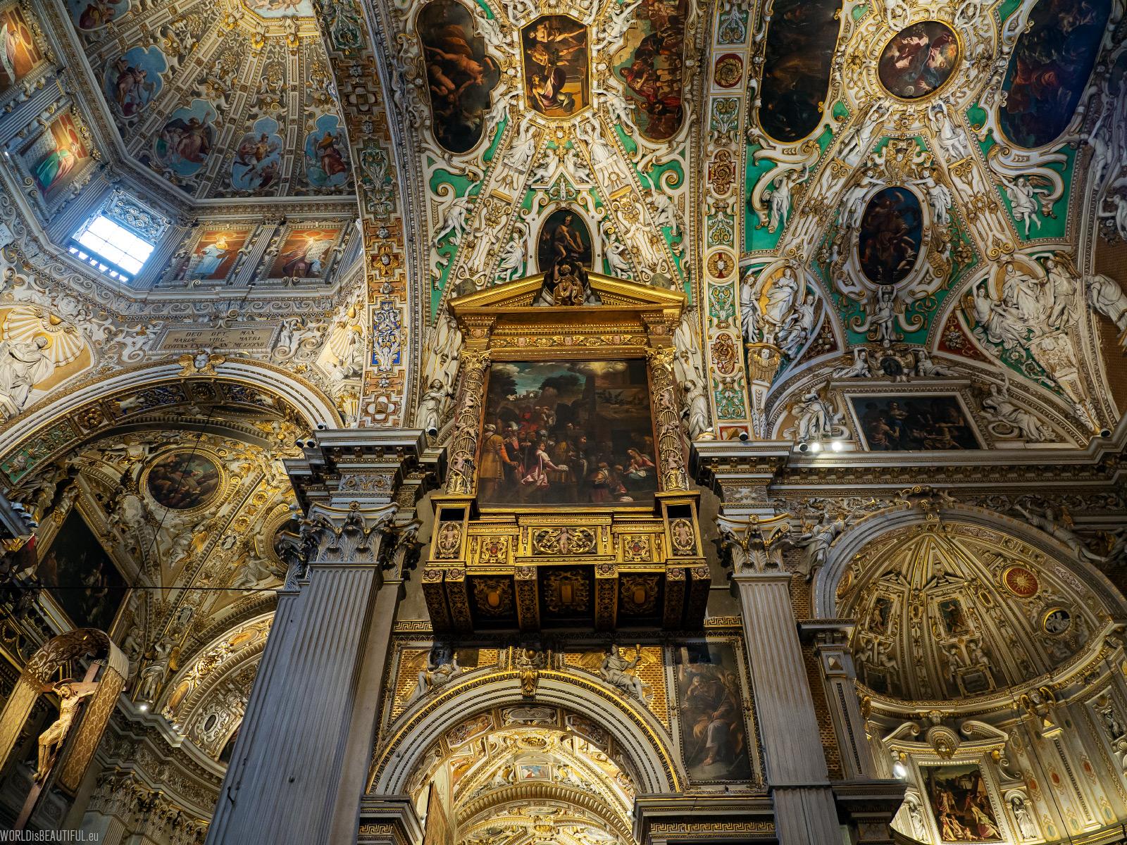 Barokowa Bazylika w Bergamo