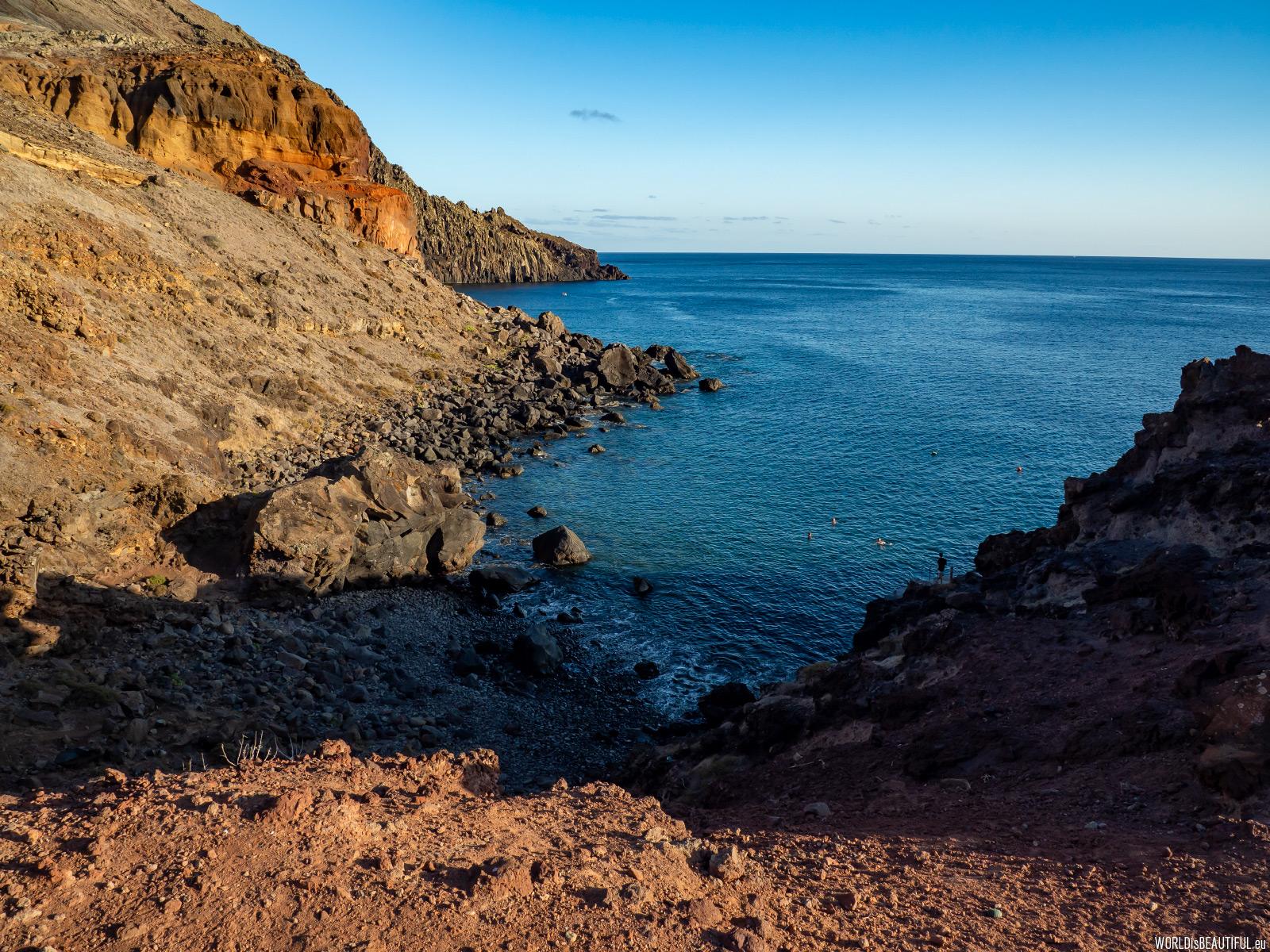 Kąpielisko przy schronisku Sardinha