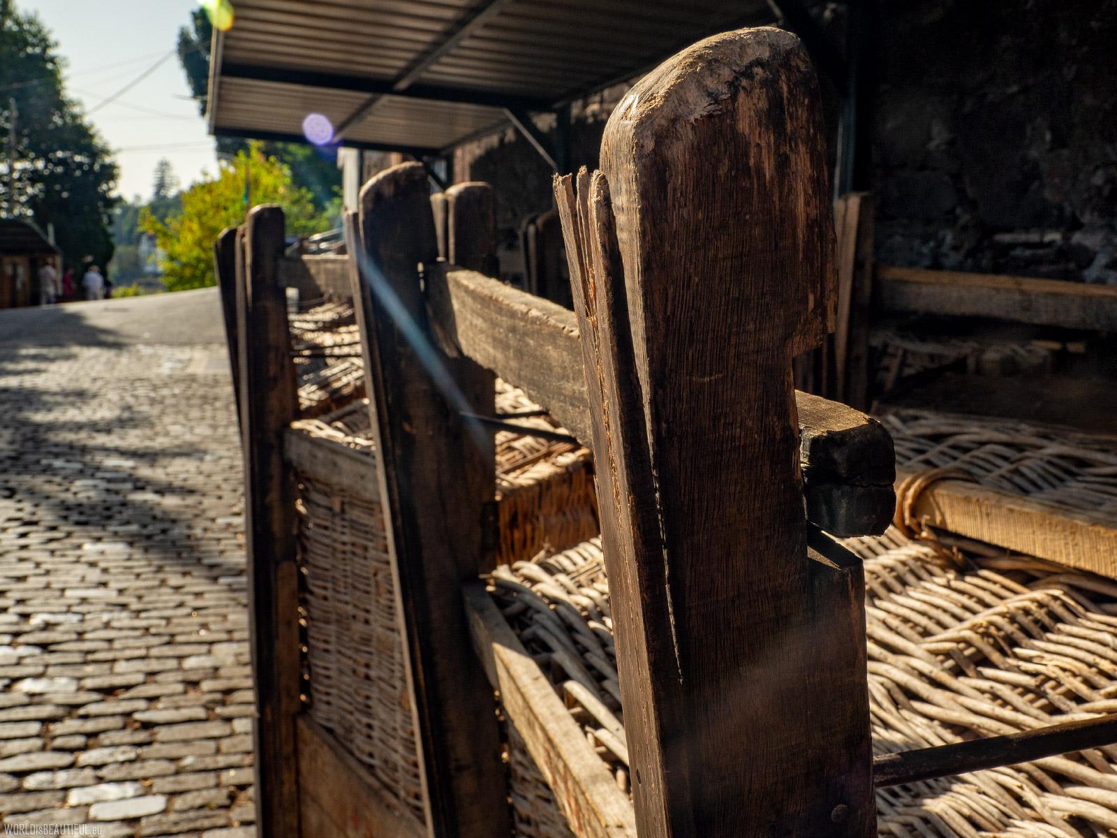 Sanki na Maderze